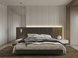 现代卧室空间