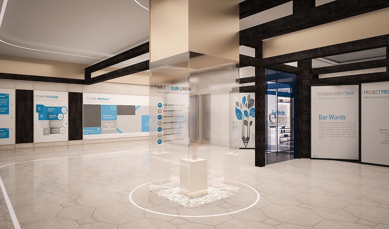 泰坦科技企业展厅图片