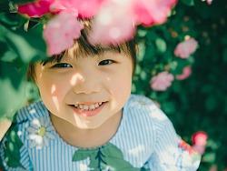 繁花似锦不如你笑靥如花