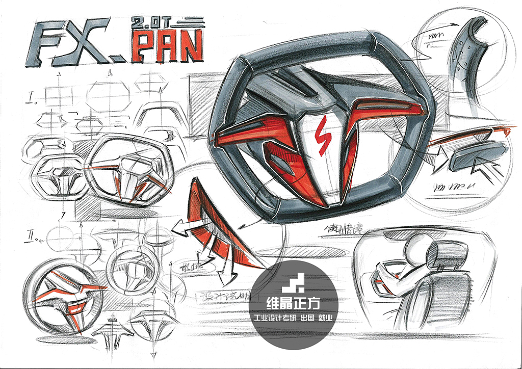 工业设计手绘图片,工业设计手绘表达|工业/产品|电子