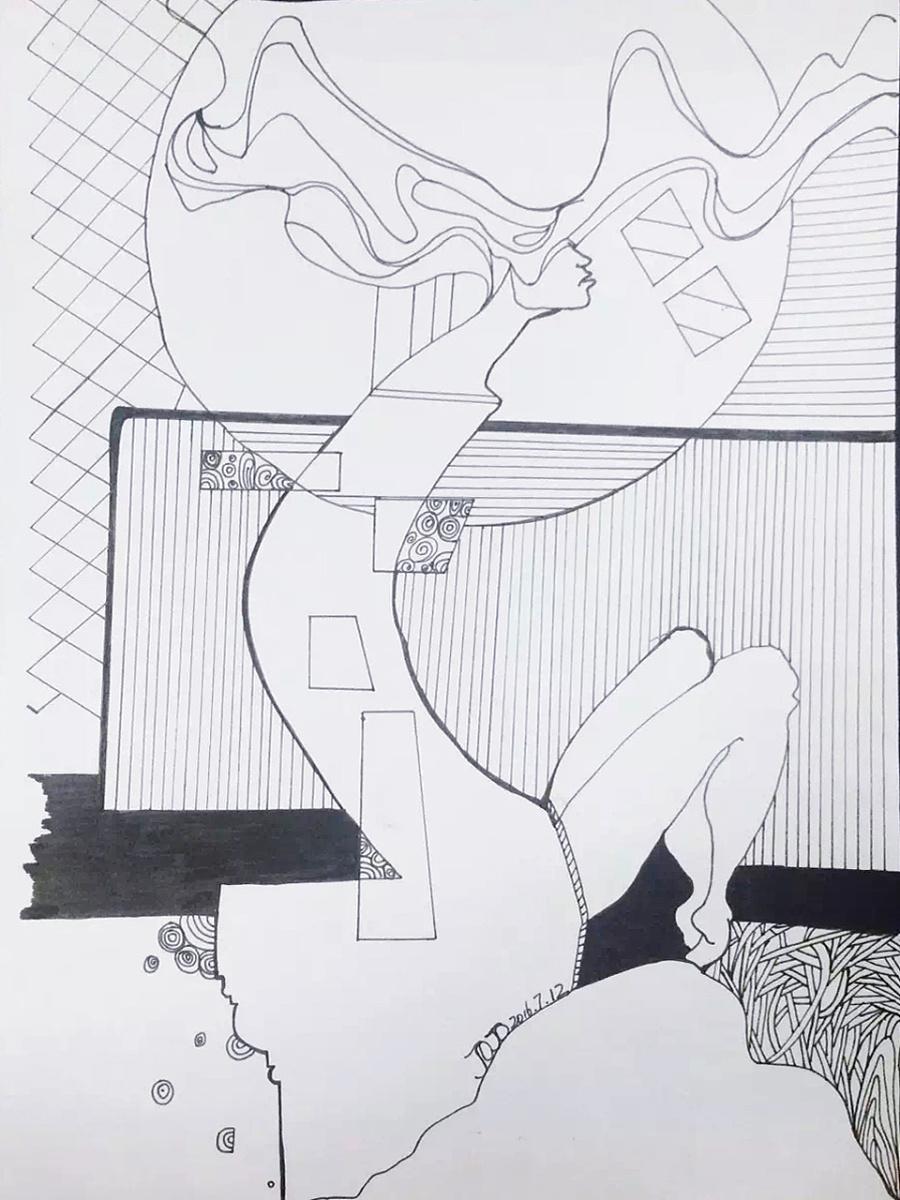 手绘.插画