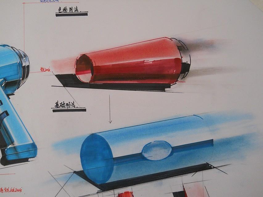 tt课堂工业设计造型表现案例图片