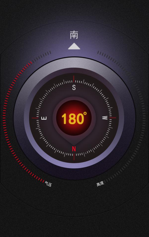 气压指南针|图标|ui|微笑9393图片