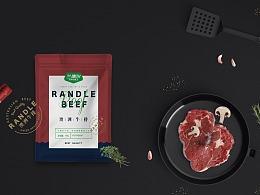 RANDLE澳洲牛排包装设计 / 三喵设计