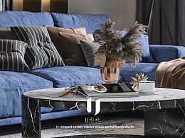 现代住宅——蓝色忧郁