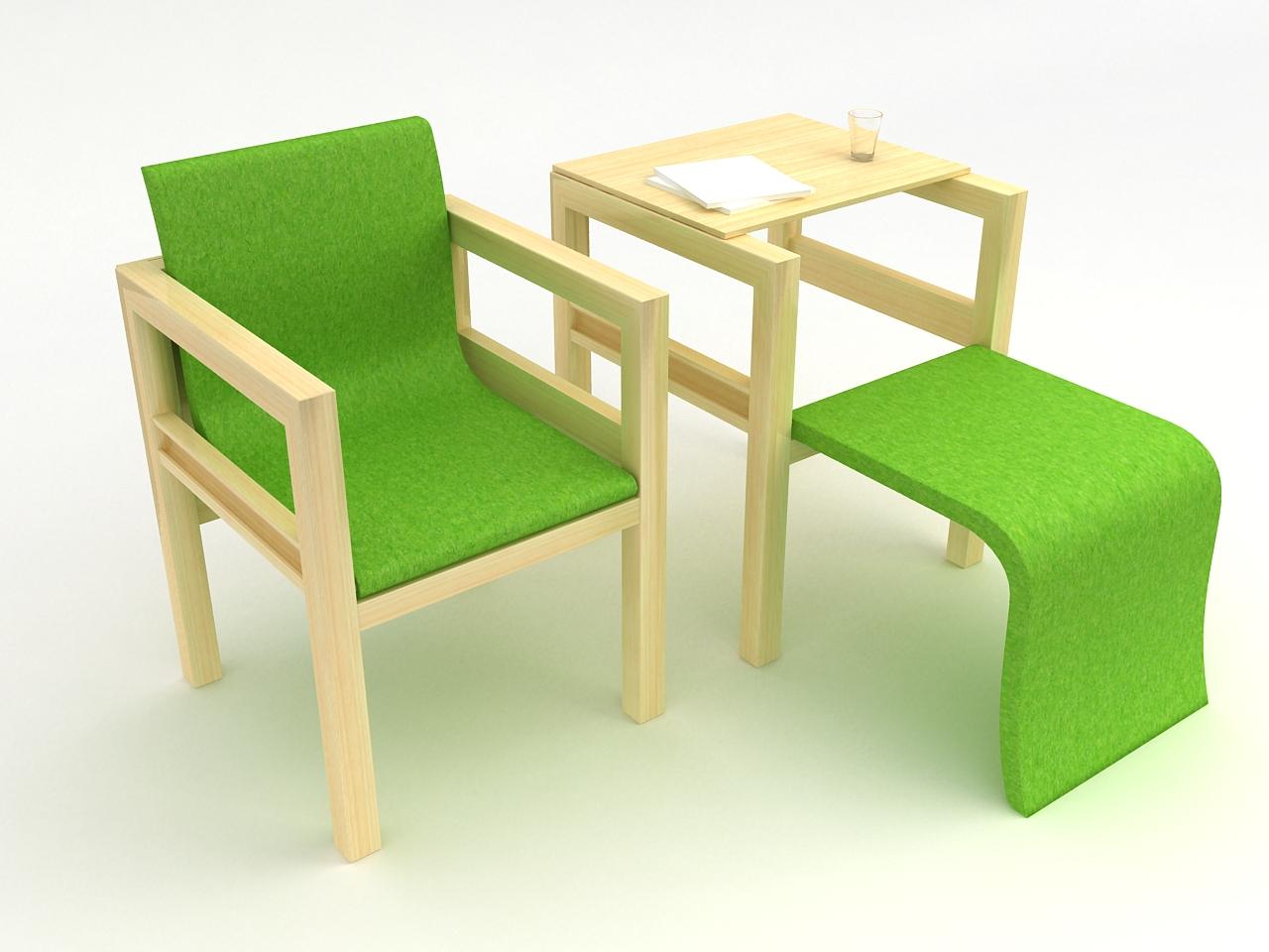 拉罐手工制作图片椅子