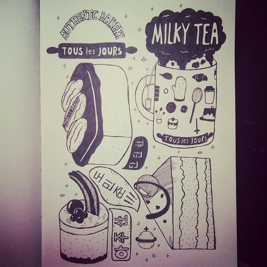 简单的插画手绘图片 手绘日记简单小图案好看简单