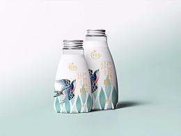 芦荟燕窝瓶装标签