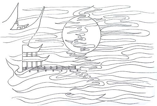 简笔画 手绘 线稿 510_346