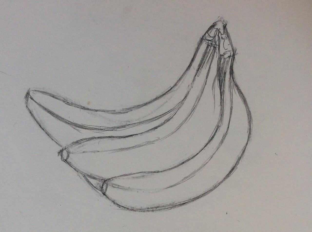 手绘素描草稿练习