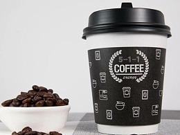 511咖啡海报