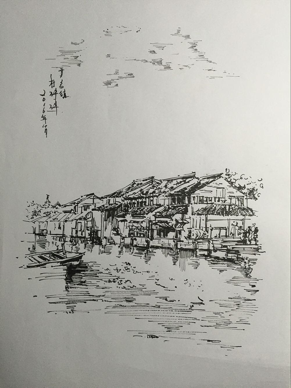杭州写生手绘