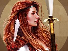 欧美女战士