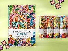 设计师Catalina为Paulo Coelho产品设计插画