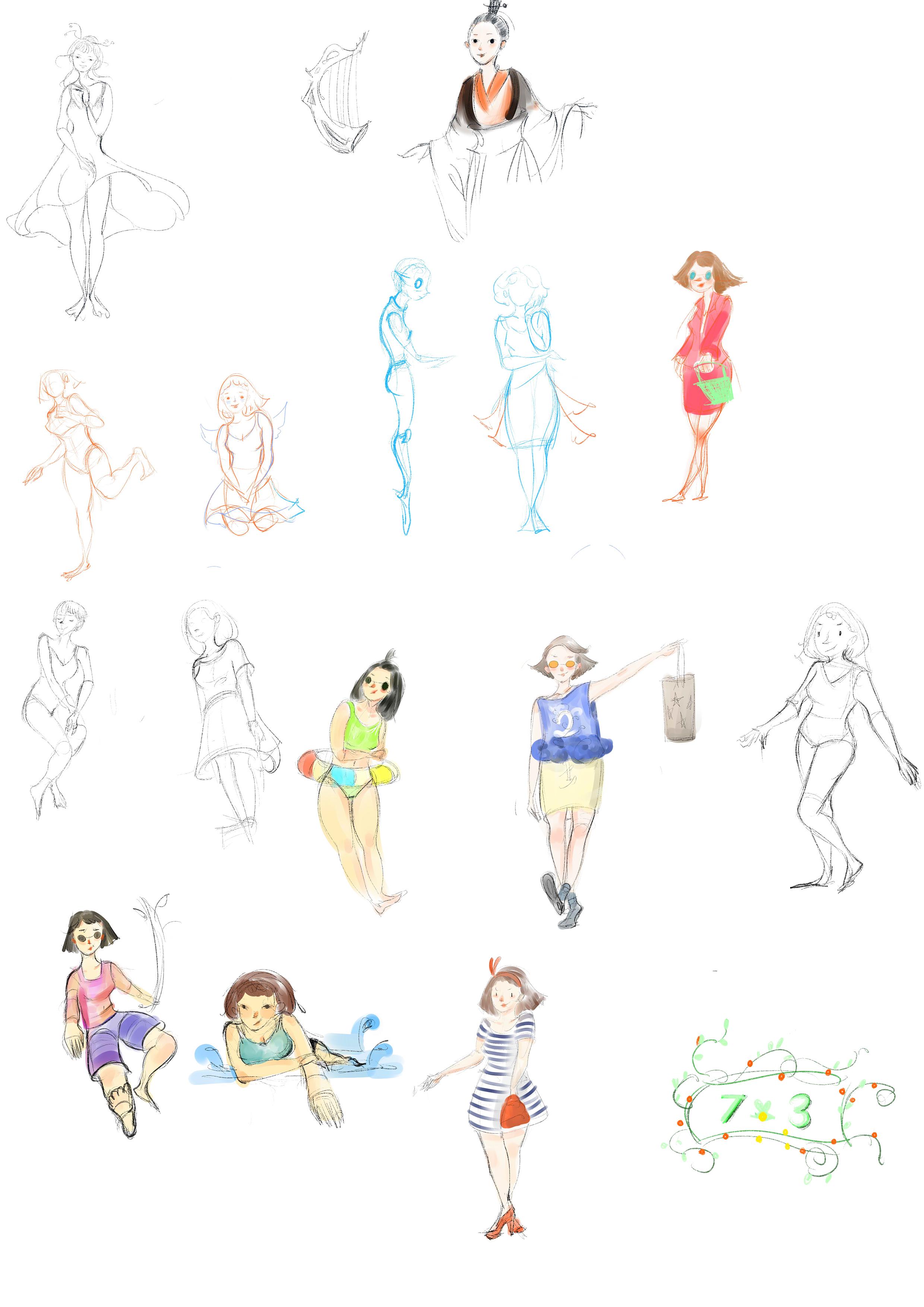 手绘板练习,用一个月来养成习惯.