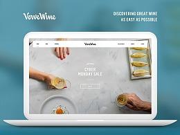 Verve Wine | 官网设计