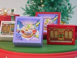 Merry Christmas圣诞节礼品形象项目设计