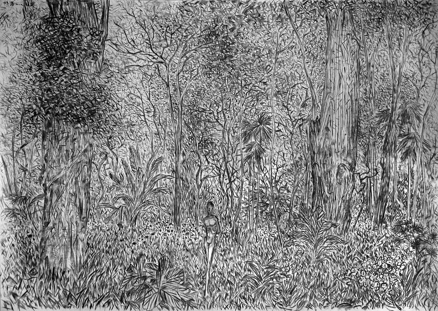 查看《《南方·潮水集》 素描系列作品节选》原图,原图尺寸:4728x3364
