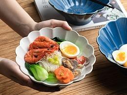 电商产品拍摄 日式面碗 陶瓷大面碗 餐具