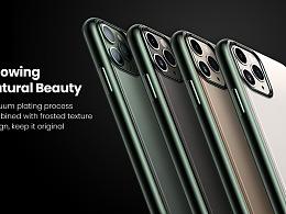 iPhone 11 pro电镀手机壳主图&A+