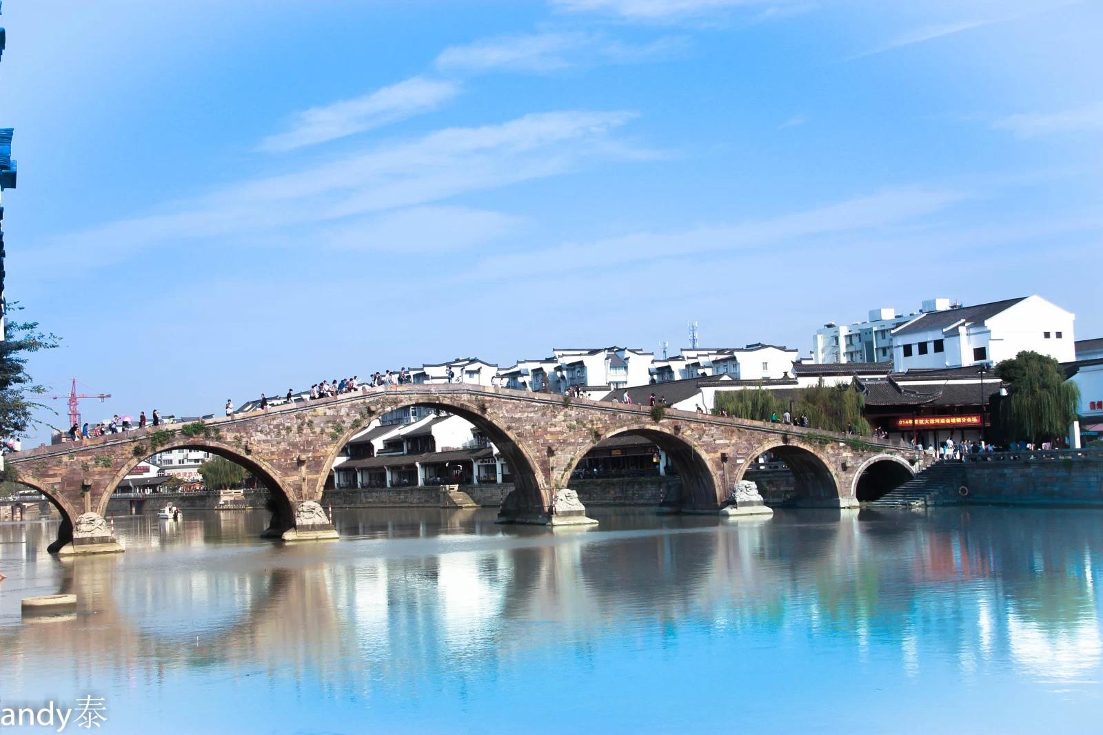 京杭大运河|摄影|环境/建筑|andy泰 - 原创作品图片