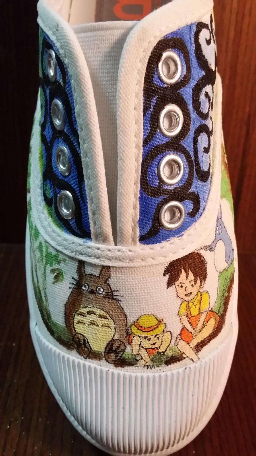 手绘鞋子|鞋类|服装|箐蛙 - 原创设计作品 - 站酷