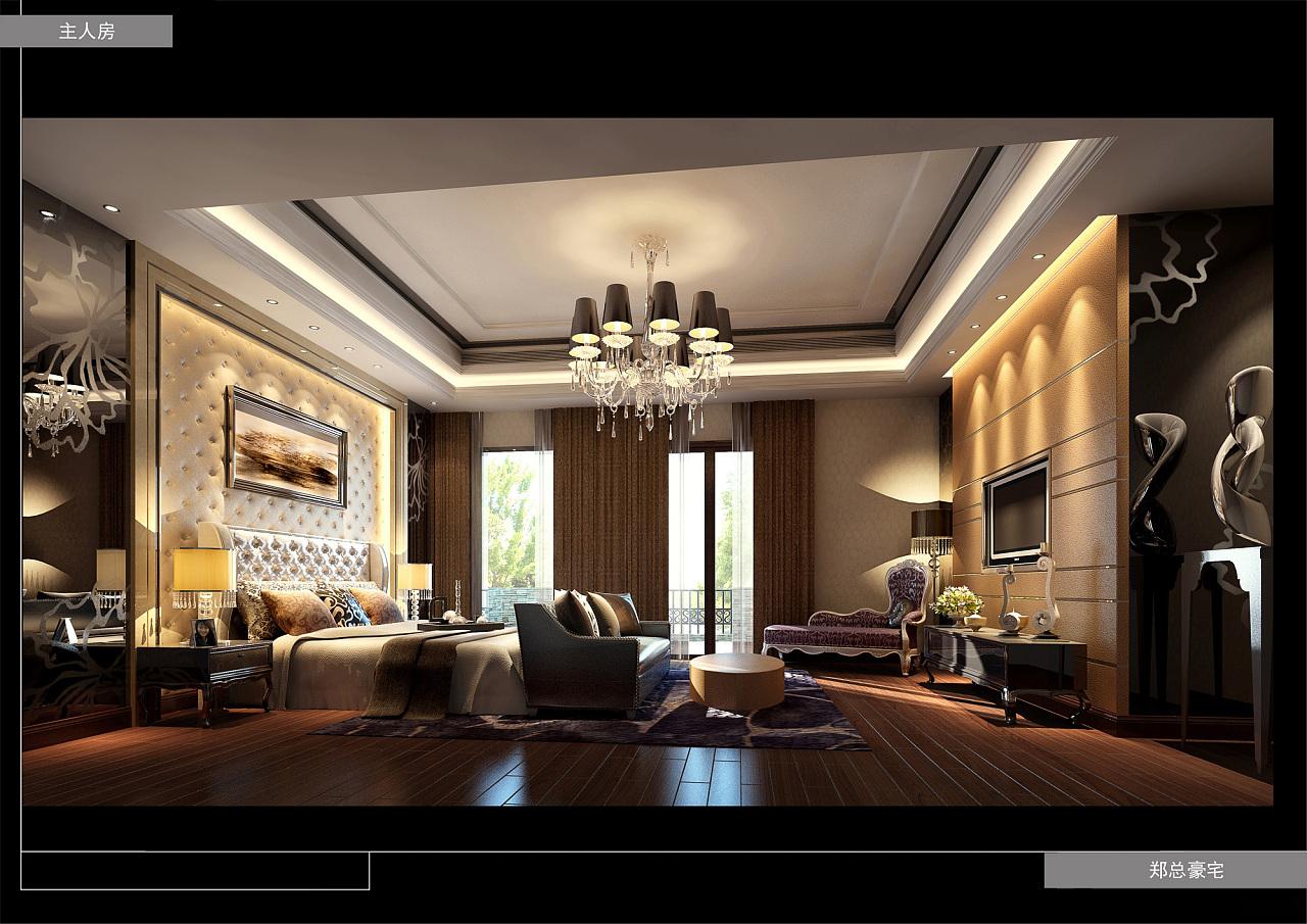 贵阳别墅欧式风格装修设计案例图片