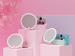 除雾日光镜丨贝多拉化妆镜