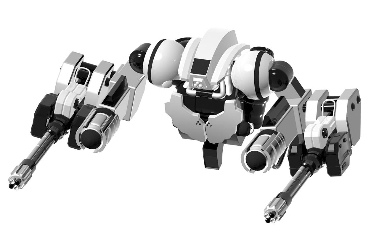 小加特林~~机器人图片