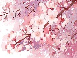 超仙的樱花场景