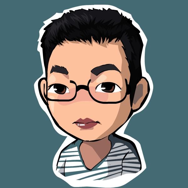 闲来无事绘制的头像微信QQ微博个人|天国漫画漫画乐神肖像图片