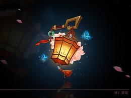 中国风游戏UI图标 原创作品