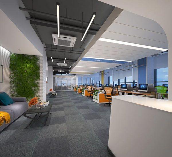 v金融金融办公室装修设计住宅效果图 室内古代案例建筑设计图片