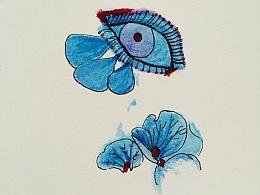 彩铅记录—《眼睛》