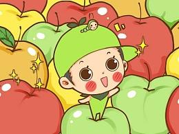 小苹果表情包 毛弟&喜美