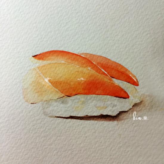 手绘美食·寿司