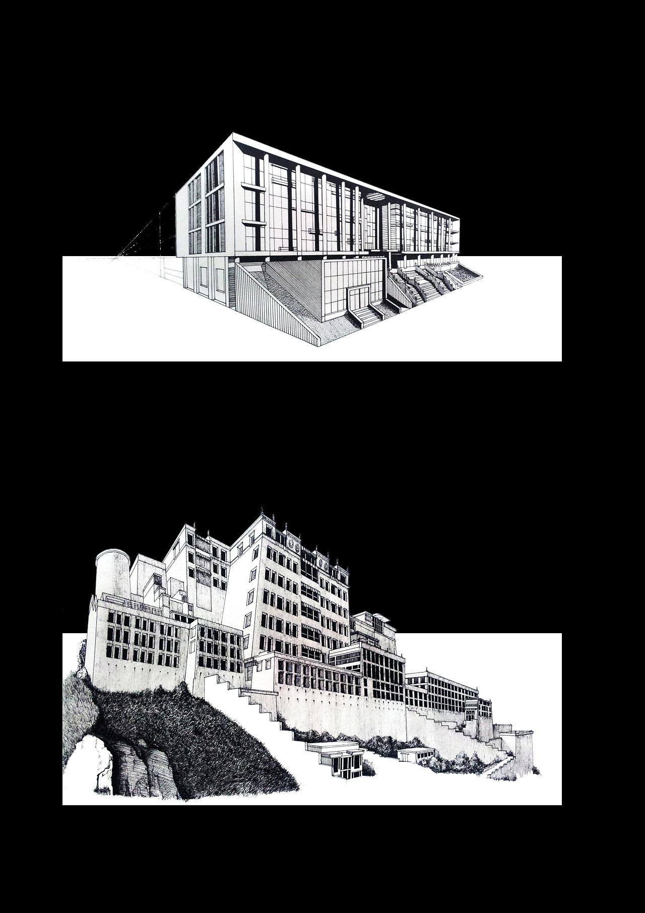 建筑透视练习