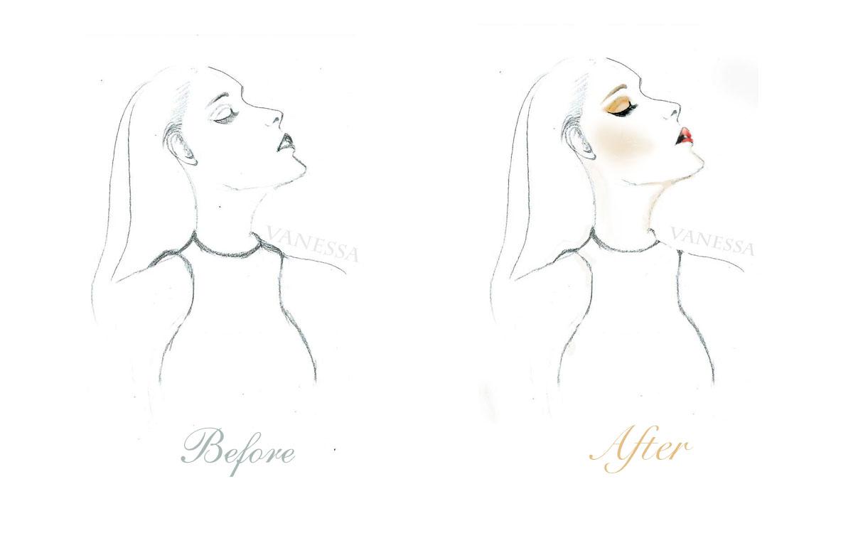手绘临摹|插画|插画习作|flora半成熟 - 原创作品