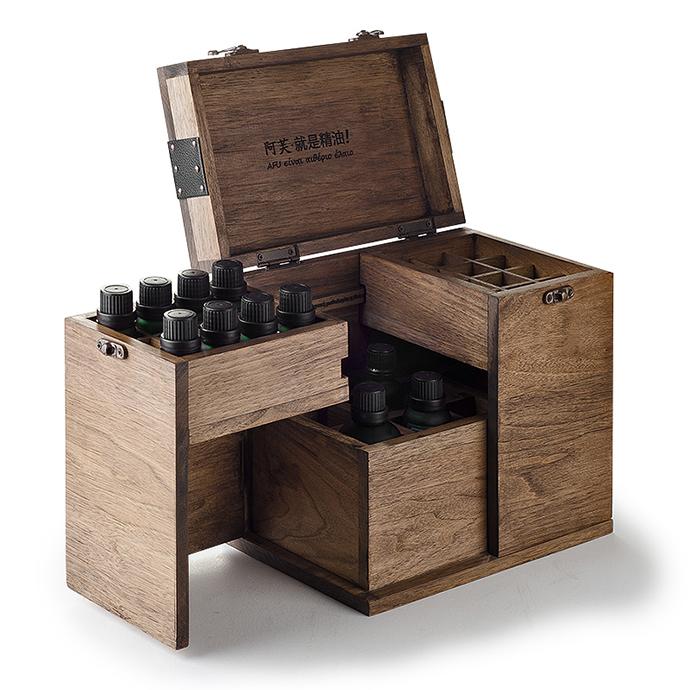 【工业设计】复古精油收纳盒设计|工业/产品|生活用品图片