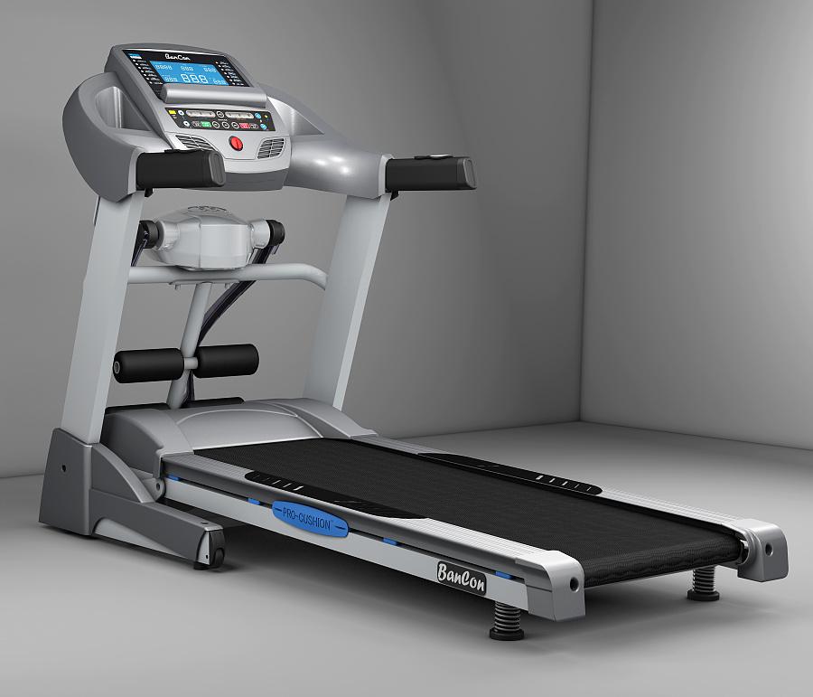 3d跑步机产品渲染|电商|网页|vampirelx - 原创设计