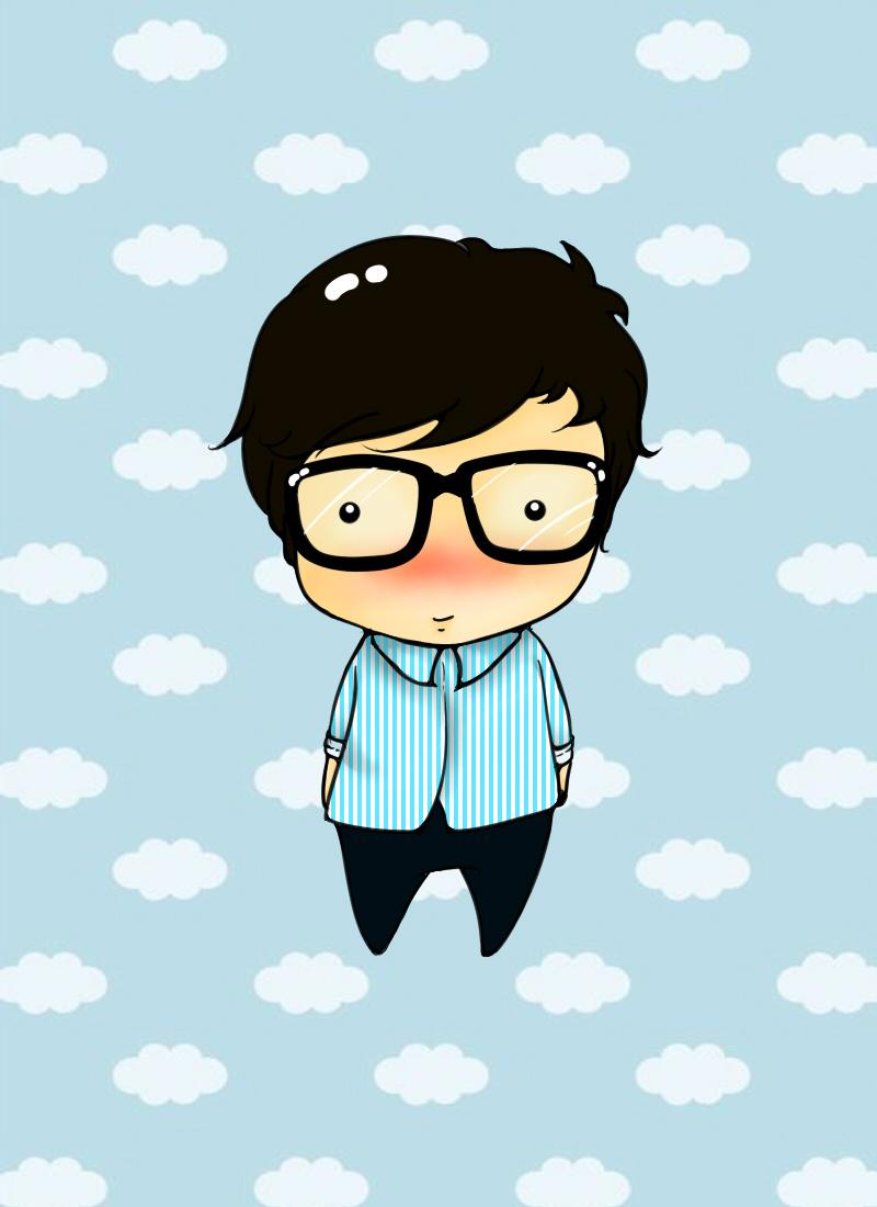 q版人物|动漫|肖像漫画|囧囧贝 - 原创作品 - 站酷