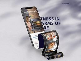 嵌入式烤箱详情页厨房电器设计分享
