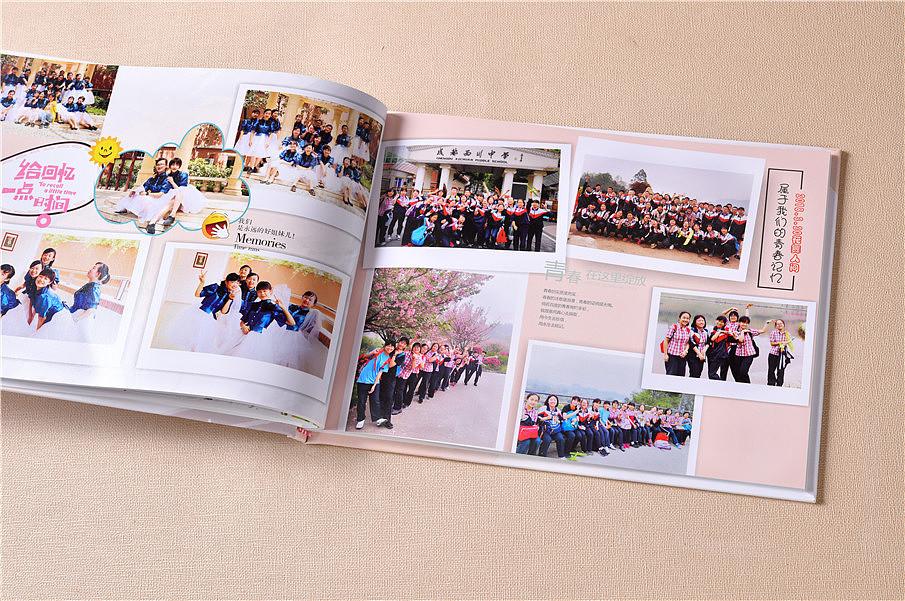 孩子毕业纪念册设计制作,学生毕业季相册定制,相册价格图片