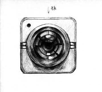 手绘图标相机
