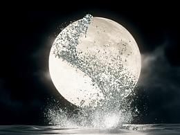 飞龙出海-海上生明月,天涯共此时