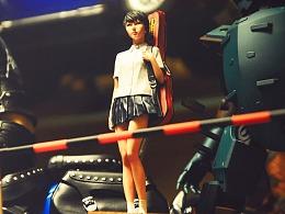 1:20 林浩己 GK人形<背吉他的少女>