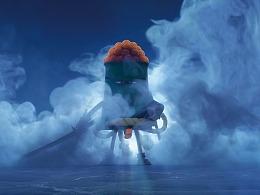 《美食大冒险》英雄出世版海报