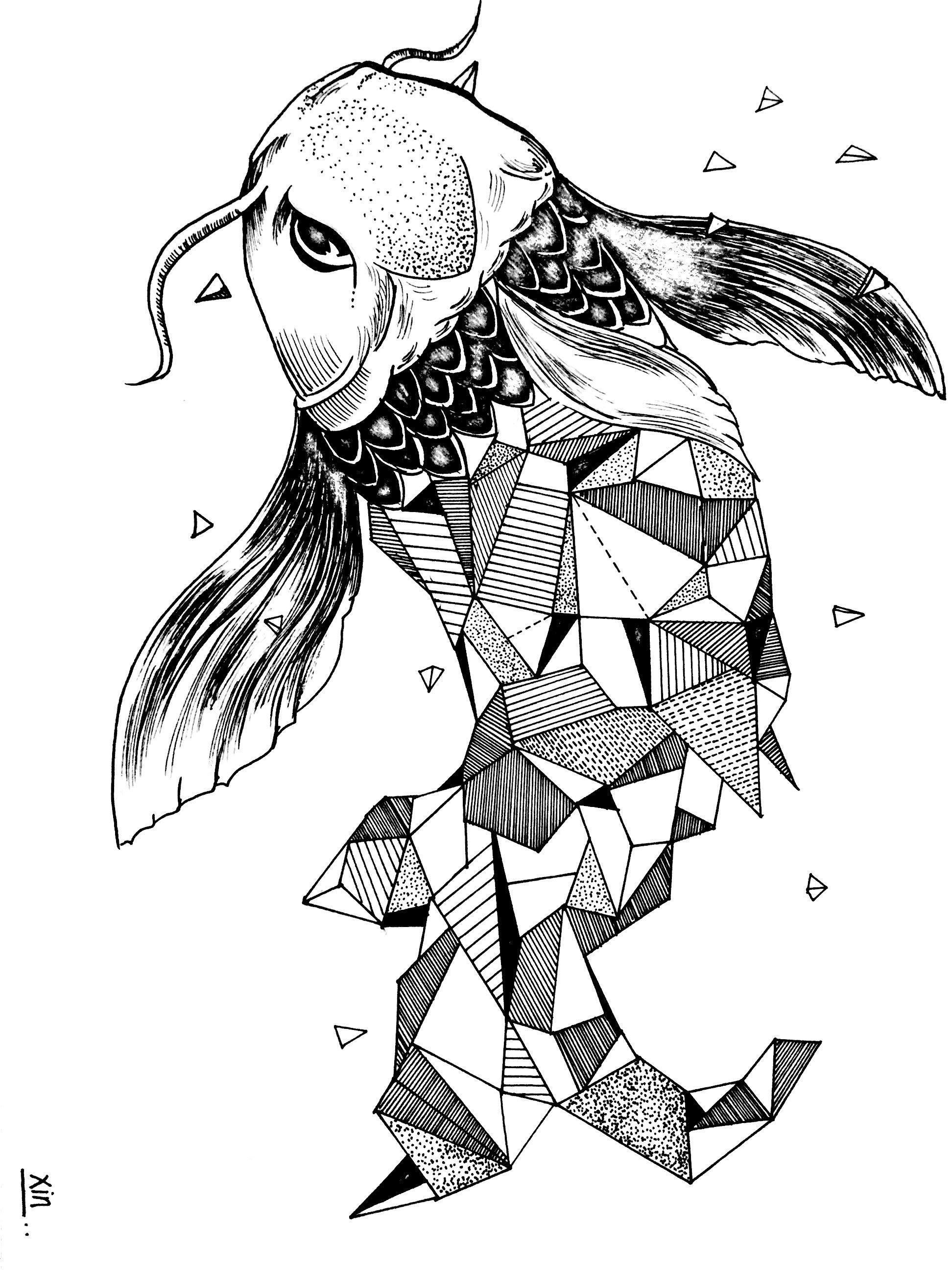 手绘|插画|插画习作|抠脚大汉欣 - 原创作品 - 站酷
