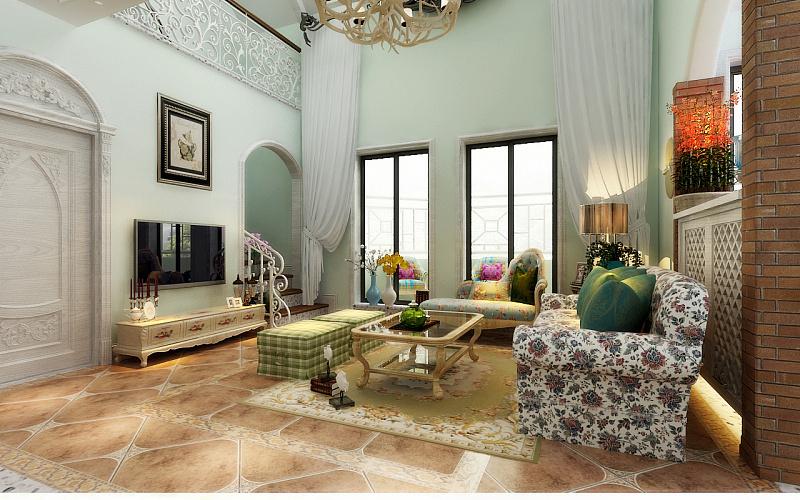 眉山复式v复式-空间田园联盟别墅 新城 室内设计广告设计工艺厂图片