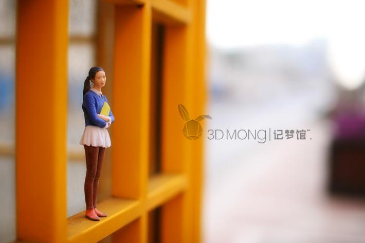 qq网络电话机_3D照相馆-全彩3D打印人像系列|三维|人物/生物|3D记梦馆 - 原创作品 ...